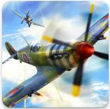 二战战机空中混战